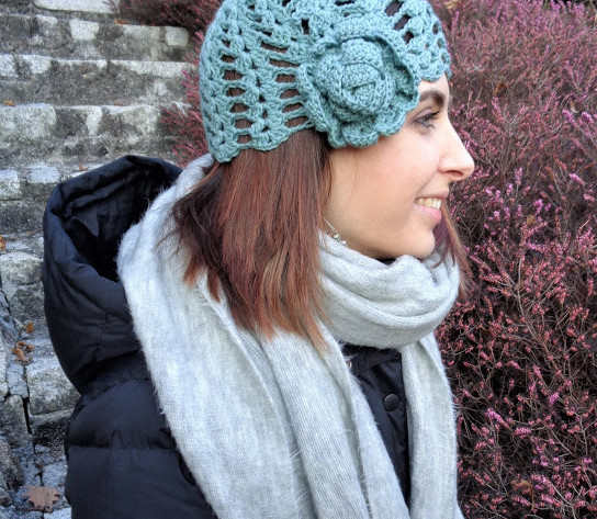 Cappello anni '20 all'uncinetto