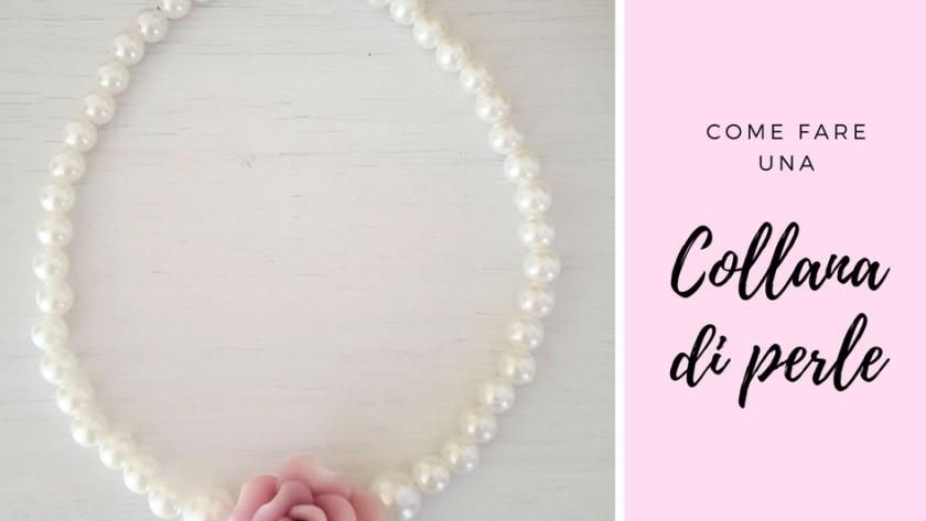 Come fare una collana di perle