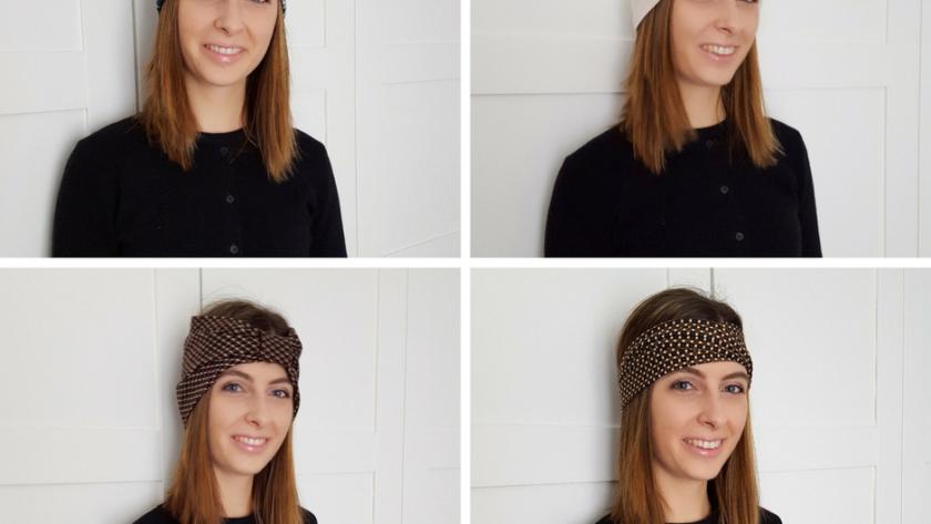 Come fare 4 tipi diversi di fasce per capelli