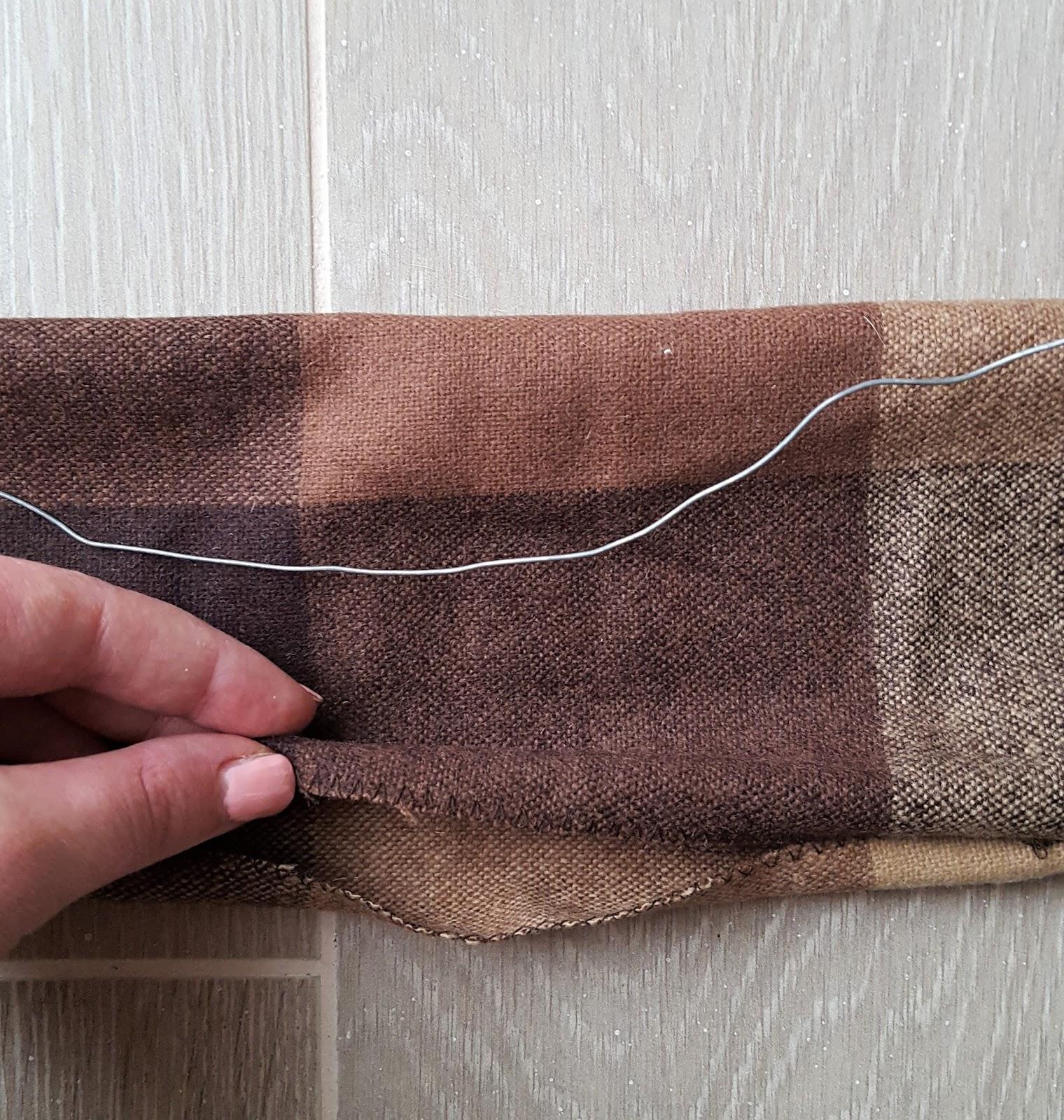 fascia capelli fil di ferro