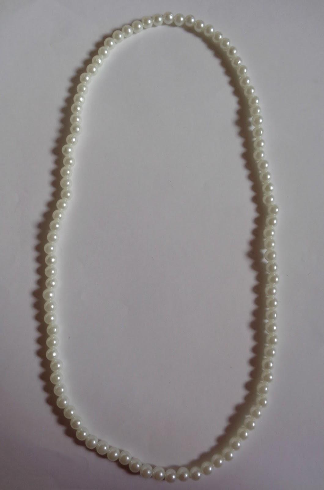 Collana Con Perle E Fiori Alluncinetto Laboratorio Di Stile