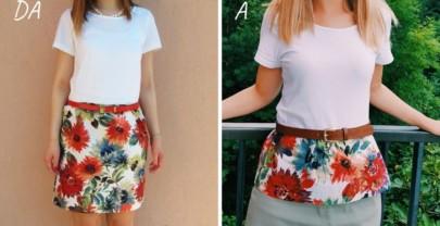 Come modificare un vestito stretto
