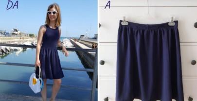 #3 Come trasformare un vestito in una gonna