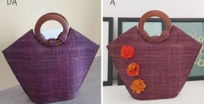 Come rinnovare una borsa con dei decori in feltro