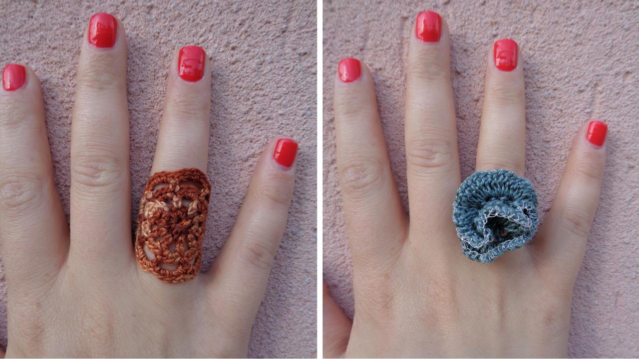 Come fare degli anelli all'uncinetto