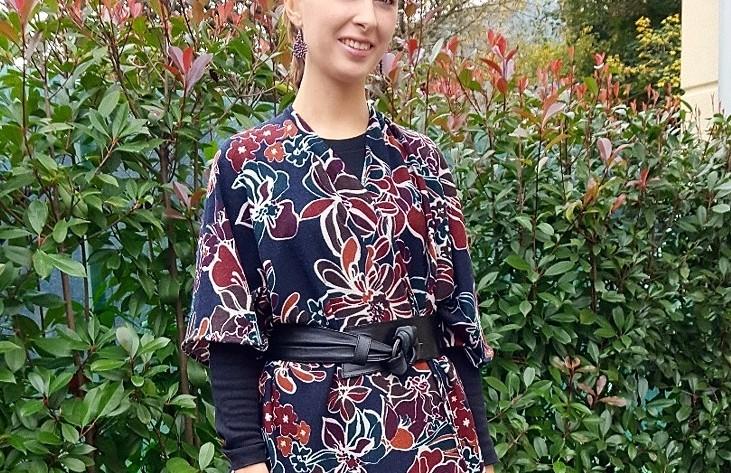 Cardigan kimono per l'inverno