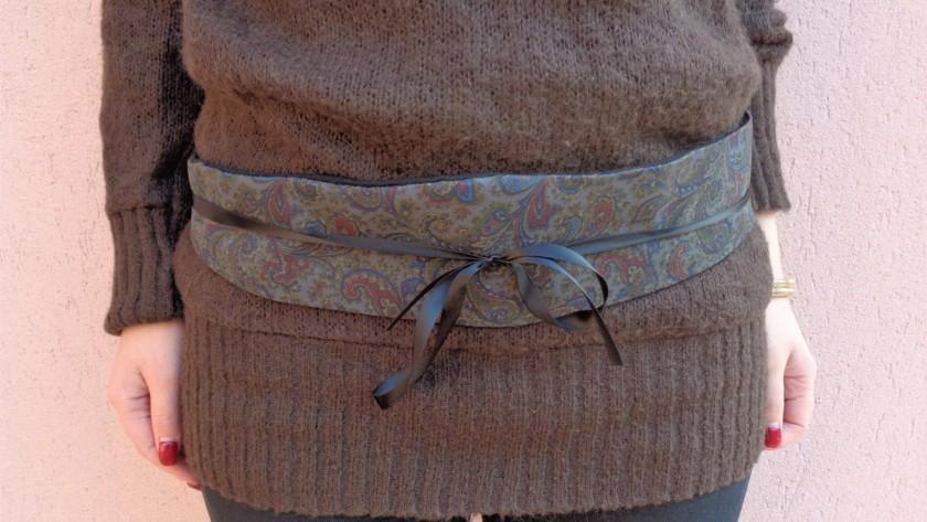 Come cucire una cintura in stile giapponese