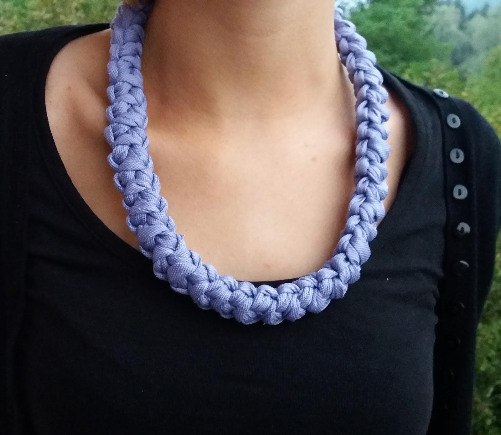 Come realizzare una collana con la spighetta rumena