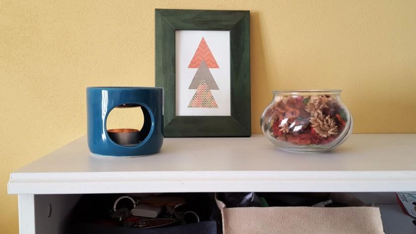 My Home: svuotatasche con materiale di riciclo