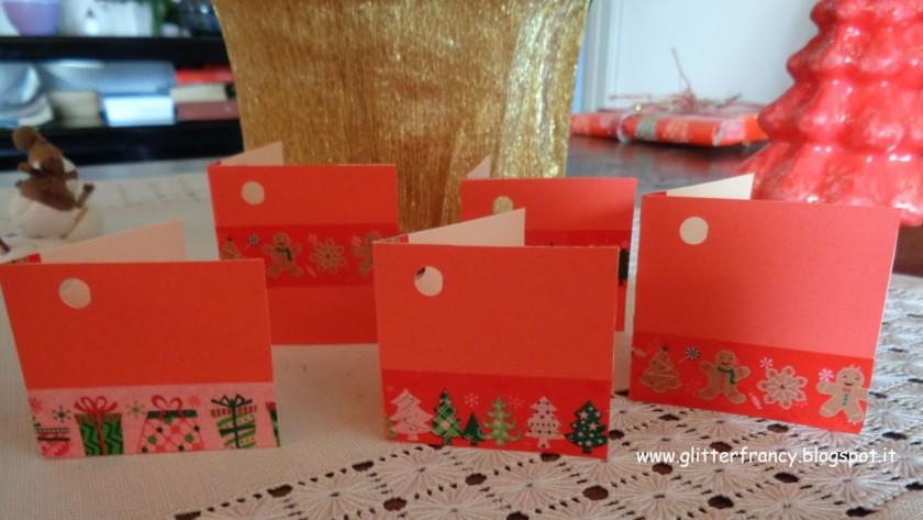 Come creare dei biglietti di auguri per Natale con i washi tape
