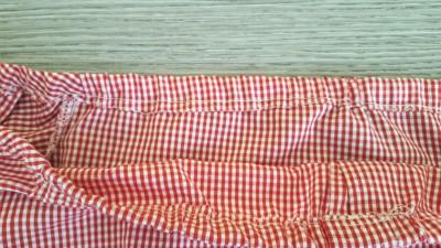 da camicia a top off shoulder elastico