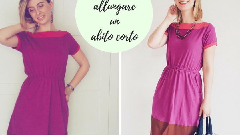 Come allungare un abito corto con pochi e semplici passaggi
