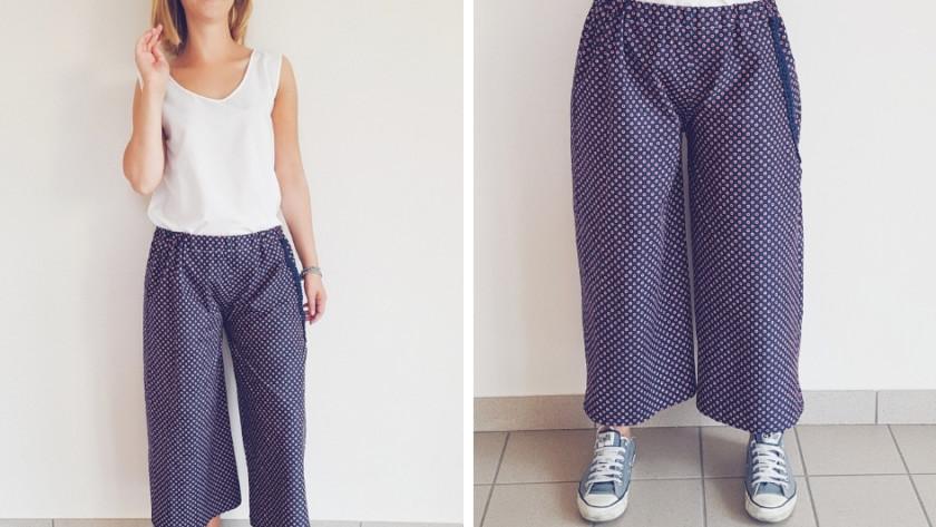 Cucire un paio di pantaloni culotte