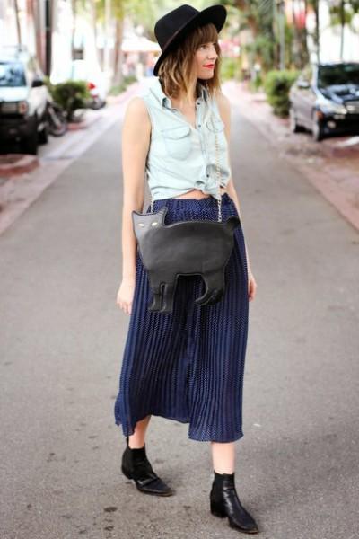 outfit vintage e moderno