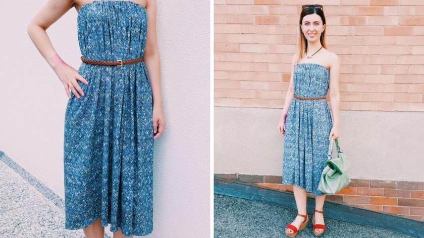 Come cucire un vestito lungo estivo