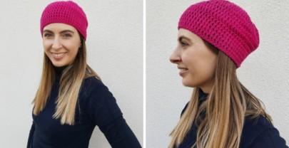 Come fare un cappello facile all'uncinetto