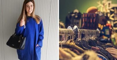 Try-on haul di vestiti di seconda mano e vintage