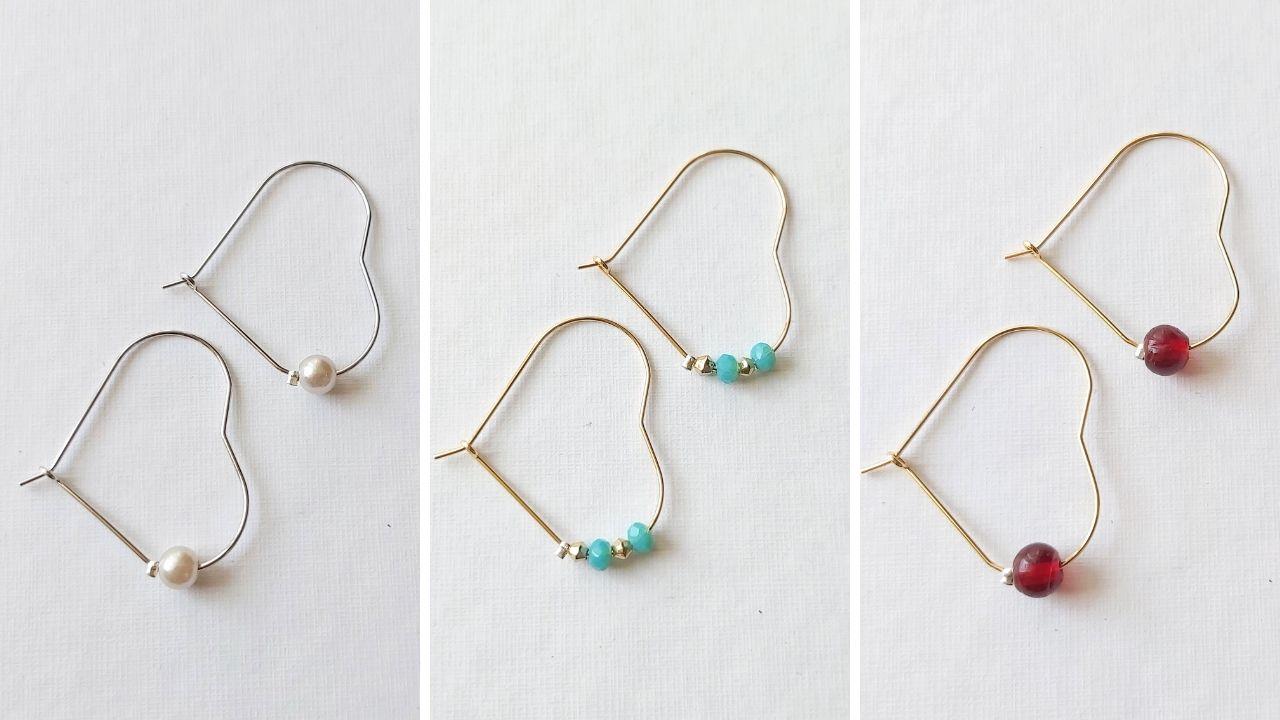 Orecchini di perline per principianti senza schema