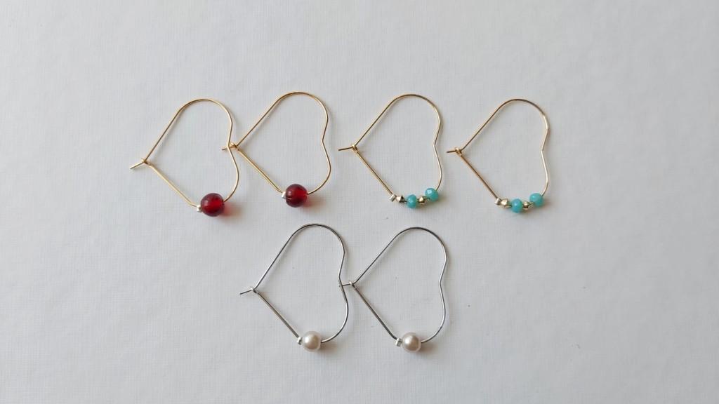 Orecchini di perline per principianti - senza schema