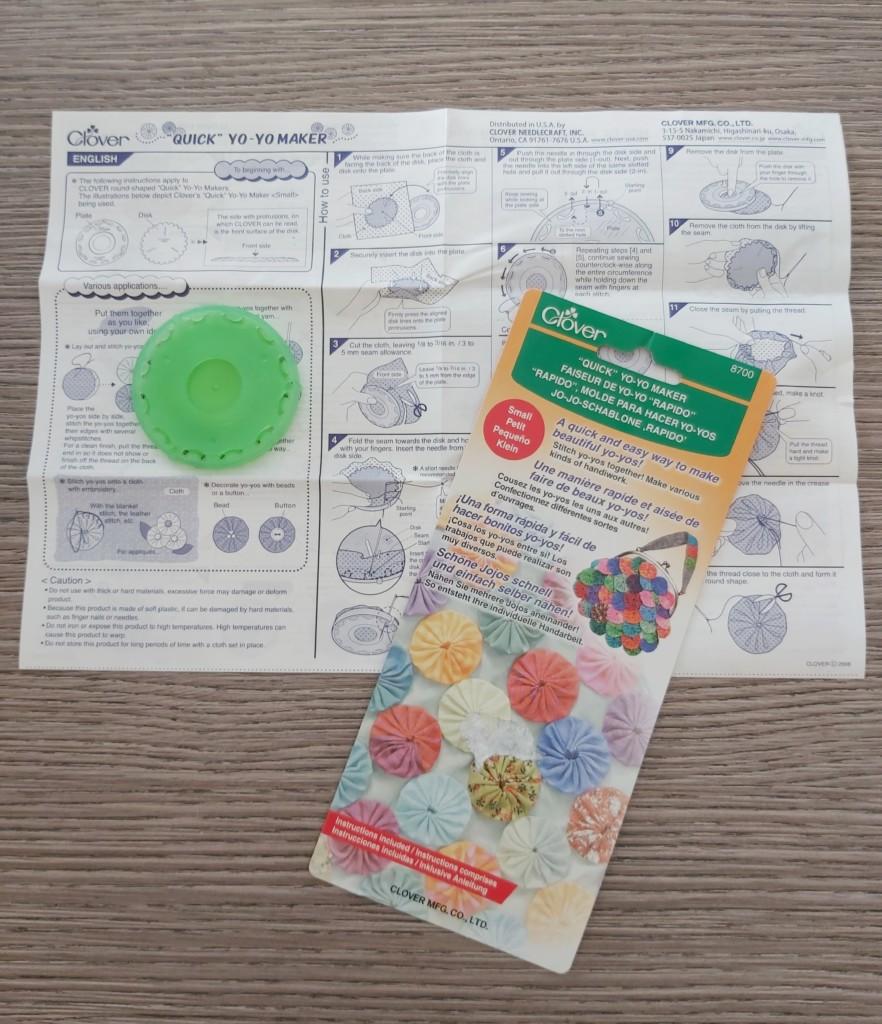 Riciclare stoffe vecchie per creare gli yo-yo di stoffa